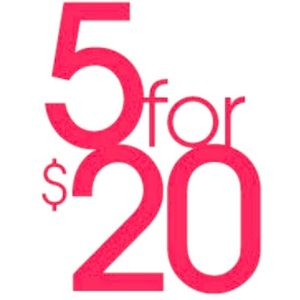 Other - SALE 5 for $20 Girls Tees